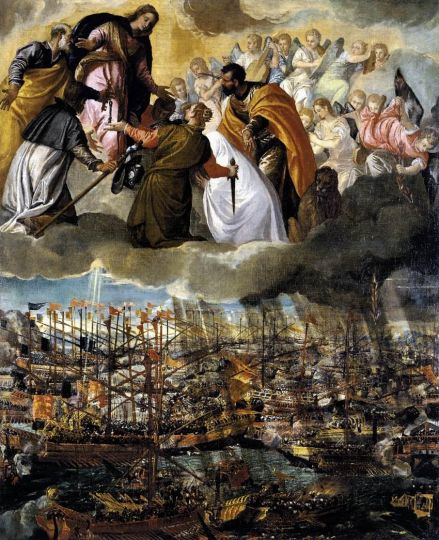 Paolo Veronese Battle of Lepanto WGA24971