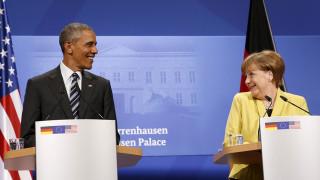 Έπαινοι Ομπάμα σε Μέρκελ για το προσφυγικό
