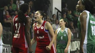 Ο Ολυμπιακός κέρδισε και στην έδρα του Παναθηναϊκού και κατέκτησε το τίτλο στην Α1 μπάσκετ γυναικών