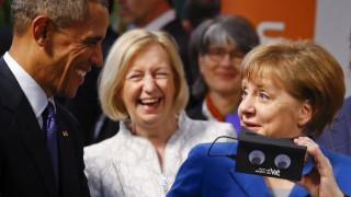 Η Μέρκελ, ο Ομπάμα, και η εικονική πραγματικότητα