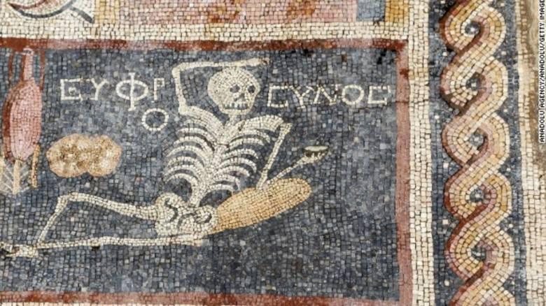 Αρχαιοελληνικό μωσαϊκό ανακαλύφθηκε στην Τουρκία