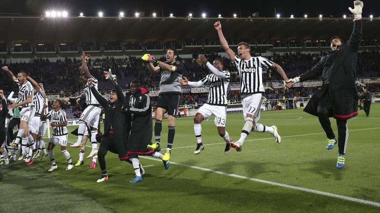 Η Γιουβέντους κατέκτησε μαθηματικά τον τίτλο στην Ιταλία