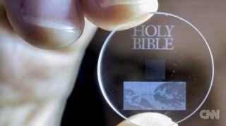 Η Βίβλος που θα αντέξει δισεκατομμύρια χρόνια