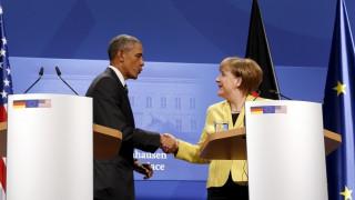 Συνεργασία με την Ελλάδα και το ΔΝΤ ζήτησε από την Μέρκελ ο Ομπάμα