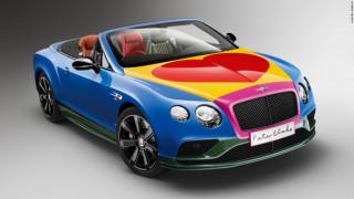 Αυτοκίνητα-έργα τέχνης από διάσημους καλλιτέχνες απαιτούν τον θαυμασμό μας