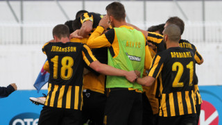 Με ισοπαλία 1-1 στο Περιστέρι η ΑΕΚ προκρίθηκε στον τελικό του Κυπέλλου