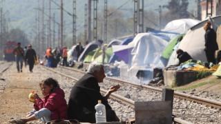 Ειδομένη: Άνοιξε η σιδηροδρομική γραμμή από πρόσφυγες