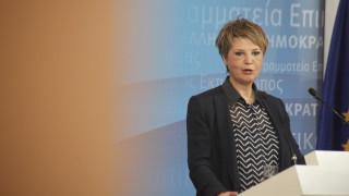 Όλγα Γεροβασίλη: Οι απαιτήσεις του ΔΝΤ υπονομεύουν τη διαπραγμάτευση