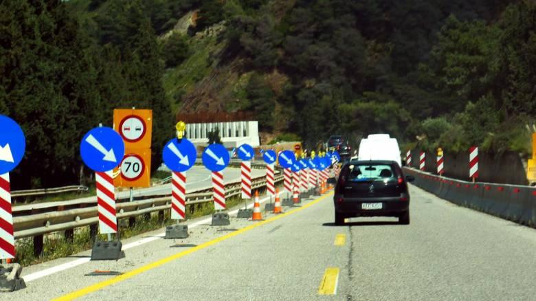 Κλειστή η Εθνική Οδός Κορίνθου-Πατρών λόγω καθίζησης του οδοστρώματος