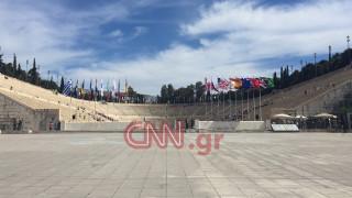 Τελετή Παράδοσης της Ολυμπιακής Φλόγας στο Καλλιμάρμαρο