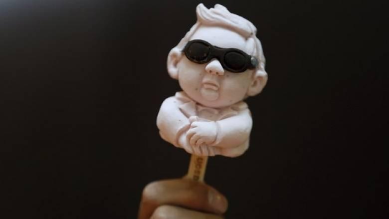 Ο Κιμ Γιονγκ Ουν έγινε παγωτό