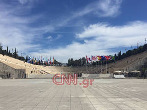 Τελετή άφιξης Ολυμπιακής Φλόγας