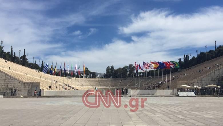 Ολοκληρώθηκε η τελετή παράδοσης της Ολυμπιακής Φλόγας