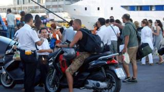 Αυξημένη η έξοδος των εκδρομέων στο λιμάνι του Πειραιά