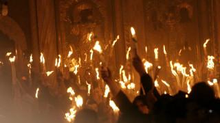Η μυσταγωγική τελετή Αφής του Αγίου Φωτός
