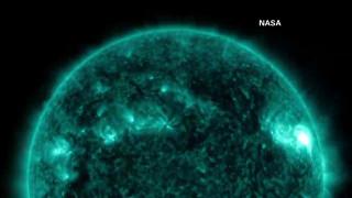 Εντυπωσιακές εικόνες από ηλιακή έκρηξη μας χαρίζει η NASA