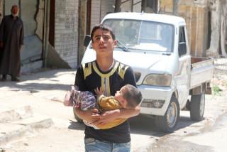 Τραγικός ο απολογισμός από το χτύπημα στο Χαλέπι