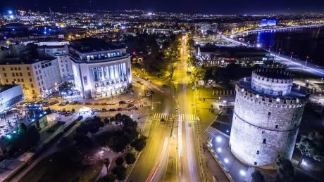 Αεροφωτογραφίες από τη Θεσσαλονίκη
