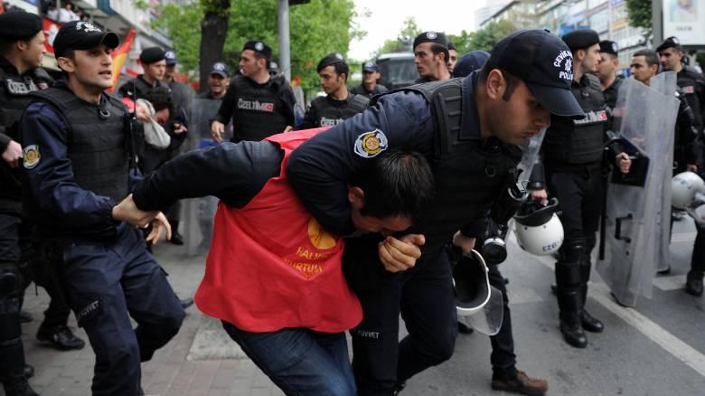 Σε αστυνομικό κλοιό η Κωνσταντινούπολη για την Πρωτομαγιά