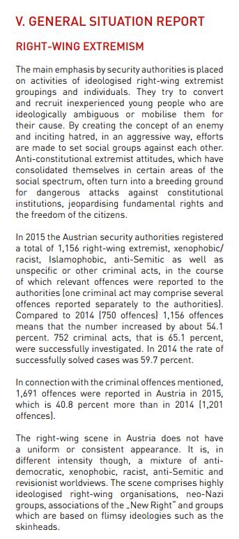 BVT absrtact Verfassungsschutzbericht 2015 pdf