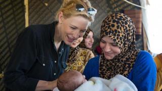 Η Κέιτ Μπλάνσετ νέα πρέσβειρα καλής θελήσεως του ΟΗΕ για την προσφυγική κρίση