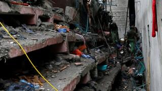 Μωρό ανασύρθηκε ζωντανό τρεις ημέρες μετά την κατάρρευση κτιρίου