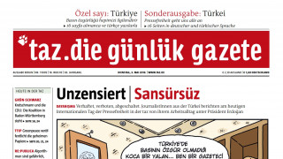 Γερμανική εφημερίδα κυκλοφόρησε στα τουρκικά για να καταγγείλλει τη λογοκρισία στην Τουρκία