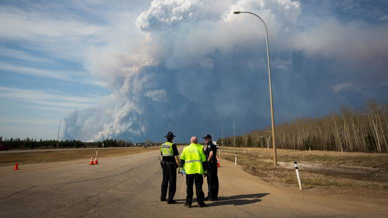 Μεγάλη φωτιά στον δυτικό Καναδά