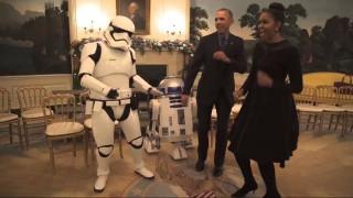 O χορός του Μπαράκ Ομπάμα στο Λευκό Οίκο δεν είναι χαριτωμένος