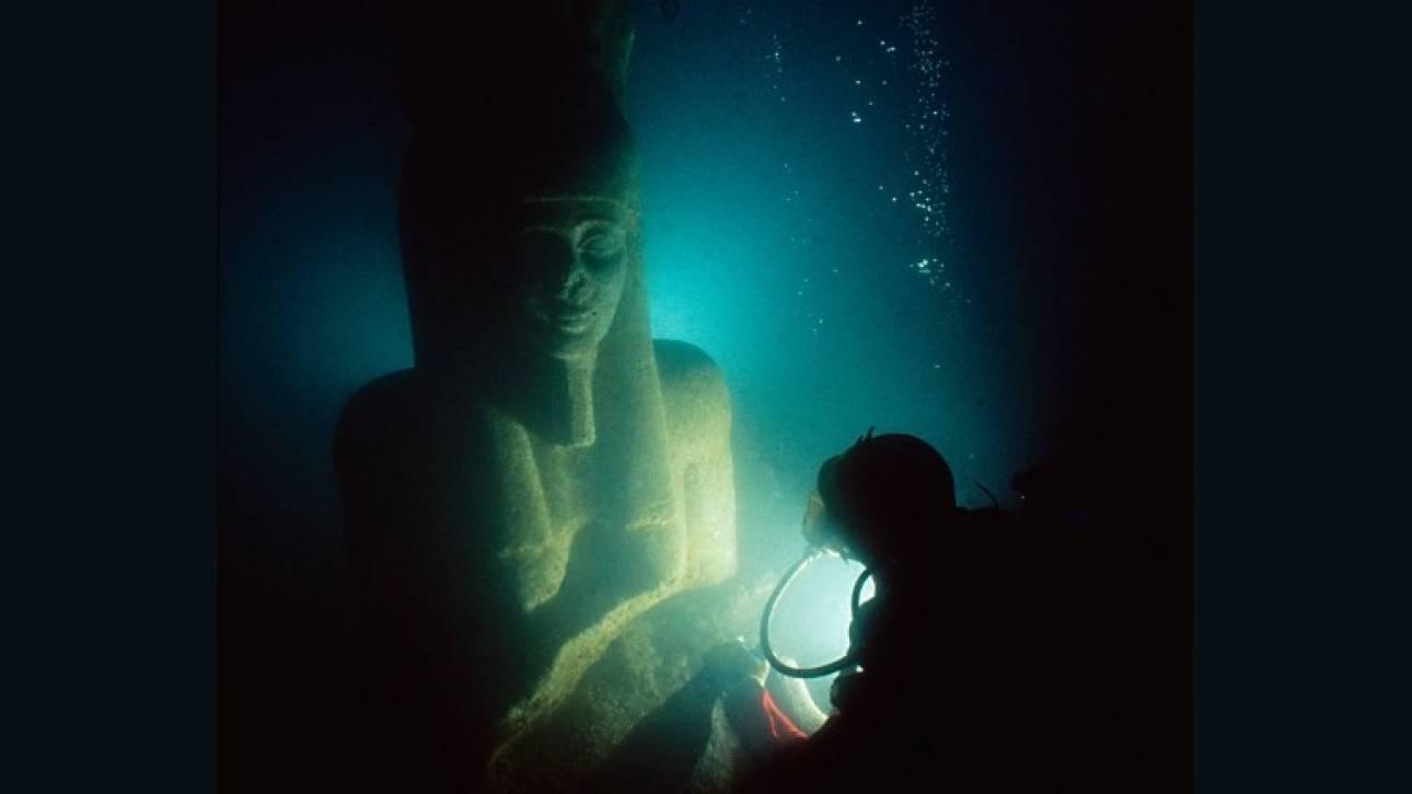 Θώνις–Ηράκλειον: Στον βυθό της θάλασσας τα μυστικά μιας αρχαίας Αιγυπτιακής πόλης