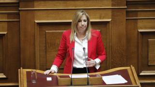 Φ. Γεννηματά: Λέμε όχι στο νομοσχέδιο έκτρωμα (vid)