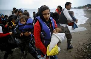 Μια ομάδα Αφγανών προσφύγων έχουν έρθει από την Τουρκία στην Κω.