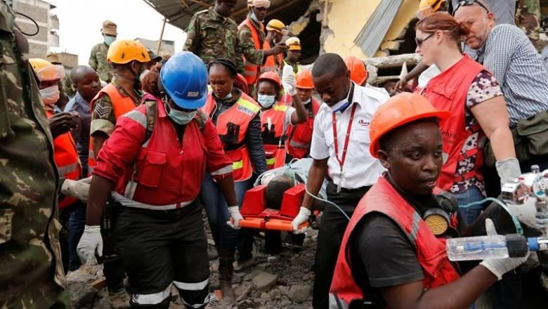 Κένυα: Αυξήθηκαν οι νεκροί από την κατάρρευση του εξαώροφου κτιρίου