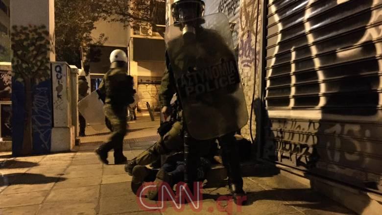 Τέσσερις προσαγωγές από την αστυνομία στα Εξάρχεια