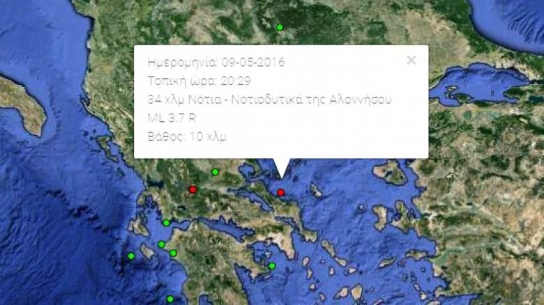 Σεισμός 3.7 βαθμών Ρίχτερ έγινε αισθητός και στην Αθήνα