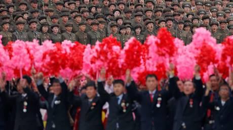 Το  συνέδριο του κόμματος Εργατών της Β.Κορέας