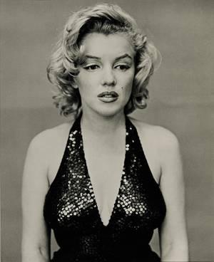 Marilyn Monroe, New York City, 1957, by Richard Avedon.