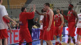 Ο Ολυμπιακός κέρδισε για 3η φορά την ΑΕΚ και προκρίθηκε στον τελικό της Α1 μπάσκετ