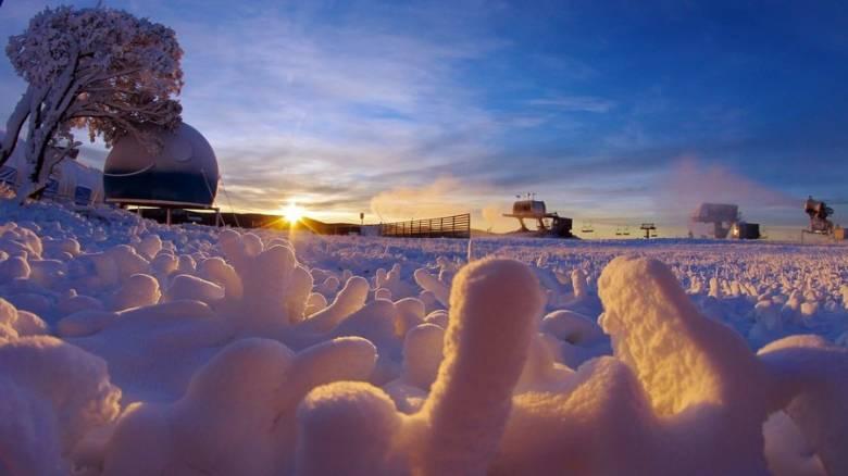 Καλοκαιρινές διακοπές με χιόνι και κρύο