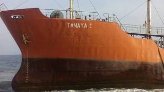 Ένα πλοίο-φάντασμα ξεβράστηκε στις ακτές της Λιβερίας