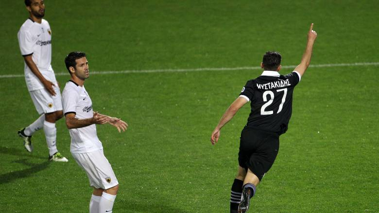 Νίκη 2-1 του ΠΑΟΚ επί της ΑΕΚ με ανατροπή του σκορ στην πρεμιέρα των play off