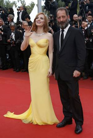 Vincent Lindon και Jessica Chastain