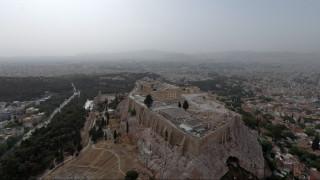 Video: Η Αφρικανική σκόνη «έπνιξε» την Αθήνα