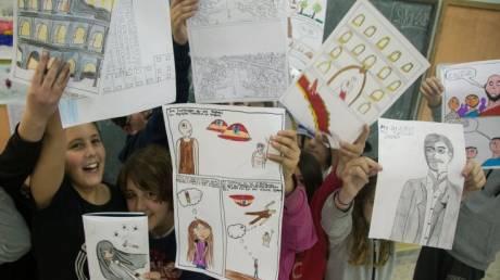 Διεθνής Έκθεση Βιβλίου Θεσσαλονίκης: Η Ιθάκη του Καβάφη ένα κόμικ στα μάτια των παιδιών