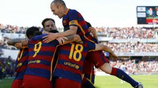Η Μπαρτσελόνα κέρδισε στη Γρανάδα και κατέκτησε το 24ο πρωτάθλημα Ισπανίας
