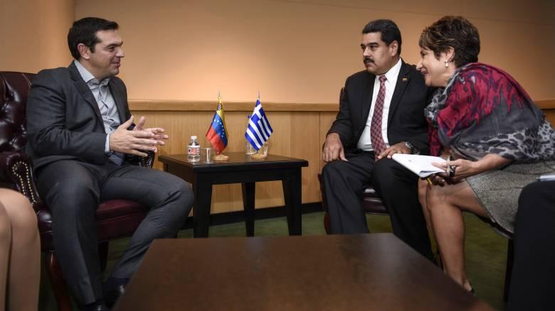 Καταγγέλουν παρέμβαση Τσίπρα για τον «άτακτο» πρέσβη της Βενεζουέλας
