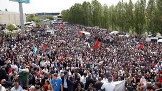 Αστυνομικές δυνάμεις εμπόδισαν συνέδριο του εθνικιστικού τουρκικού κόμματος
