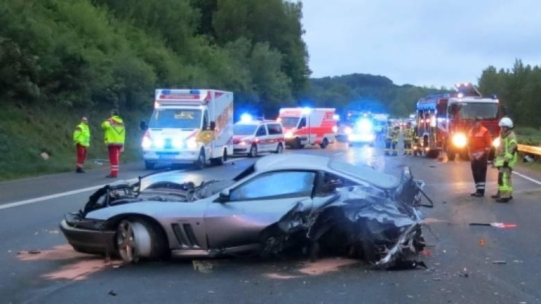 Γερμανία: Οδηγός Ferrari προκάλεσε τροχαίο τρέχοντας με 300 χλμ/ώρα