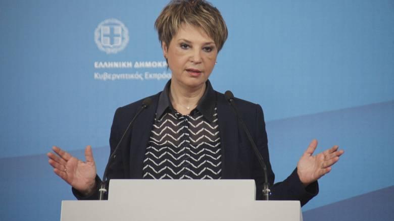 Ο. Γεροβασίλη: Παραμένουμε προσηλωμένοι στην ανάγκη για βιώσιμο χρέος