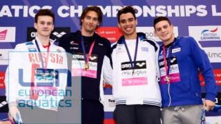 Ο Απόστολος Χρήστου τερμάτισε 3ος στον τελικό των 100 μέτρων ύπτιο του Ευρωπαϊκού